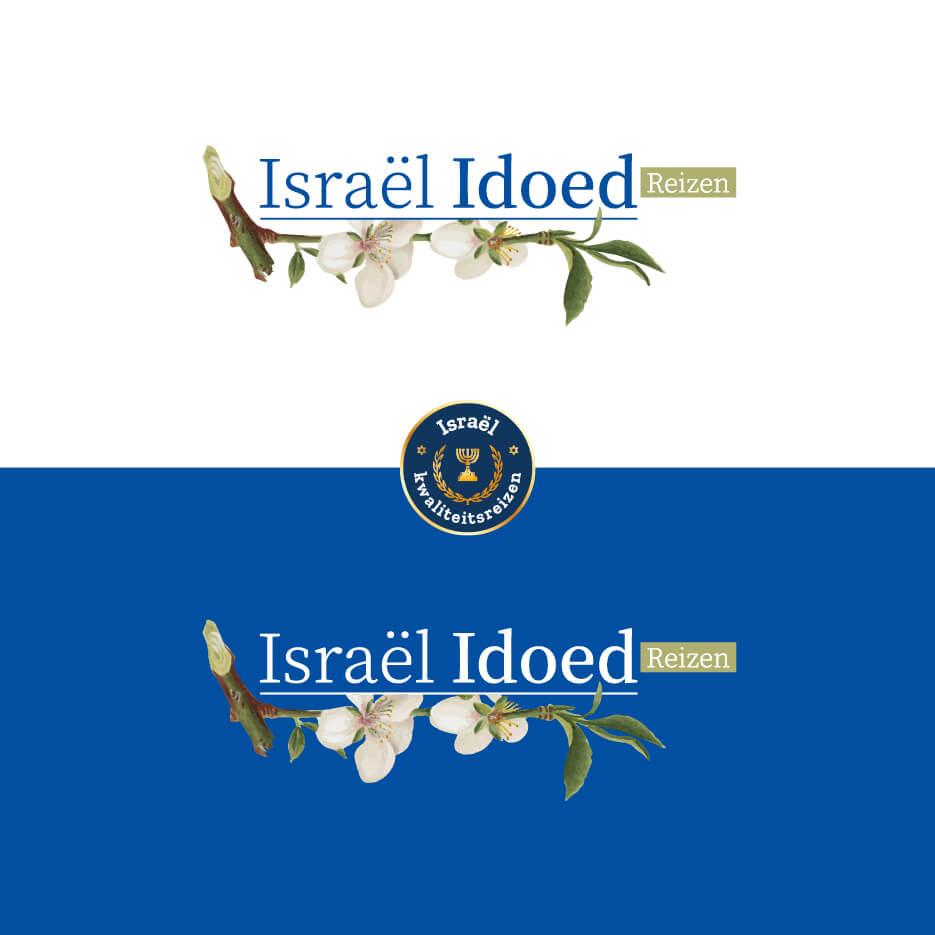 Restyle logo (en meer) – Israël Idoed Reizen