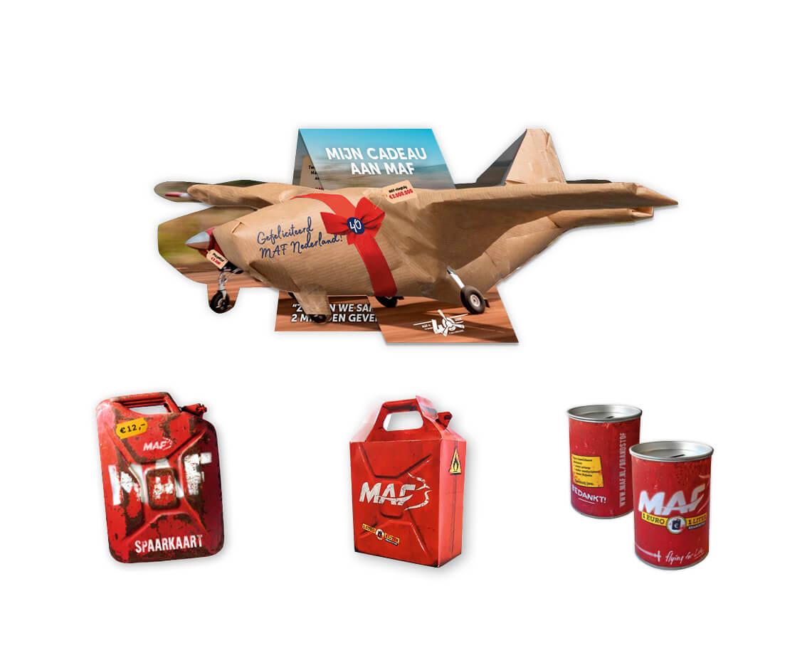 Brandstofcampagne en vliegtuigmailing – MAF Nederland
